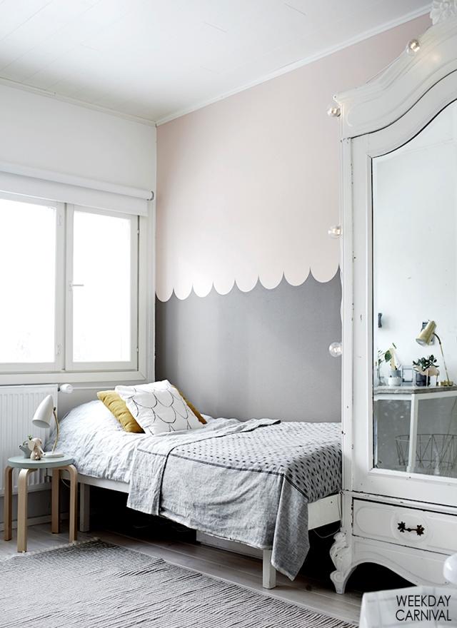 Una habitaci n de adolescente con mucho estilo la for Habitacion estilo escandinavo