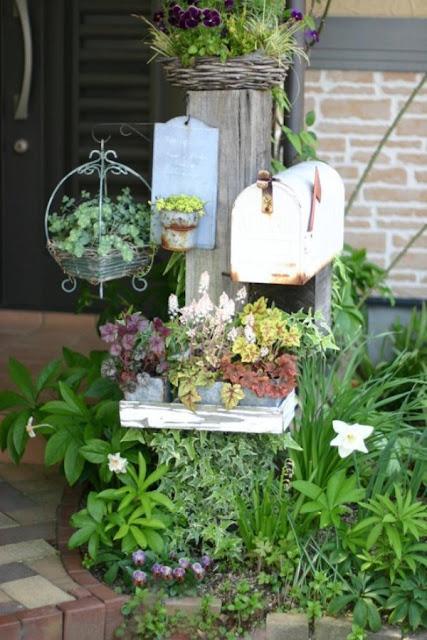 khu vườn nhỏ xinh