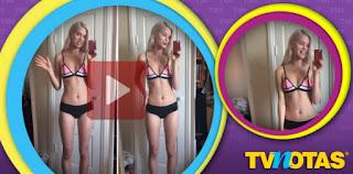 Una sexy modelo no encuentra trabajo ¡por tener cuerpo espectacular!.