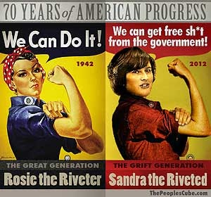 SANDRA FLUKE aka JULIA WELFARE QUEEN
