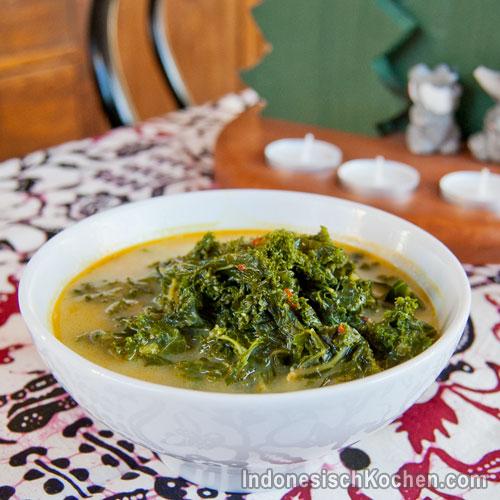 Grünkohl vegetarisch indonesisch kochen