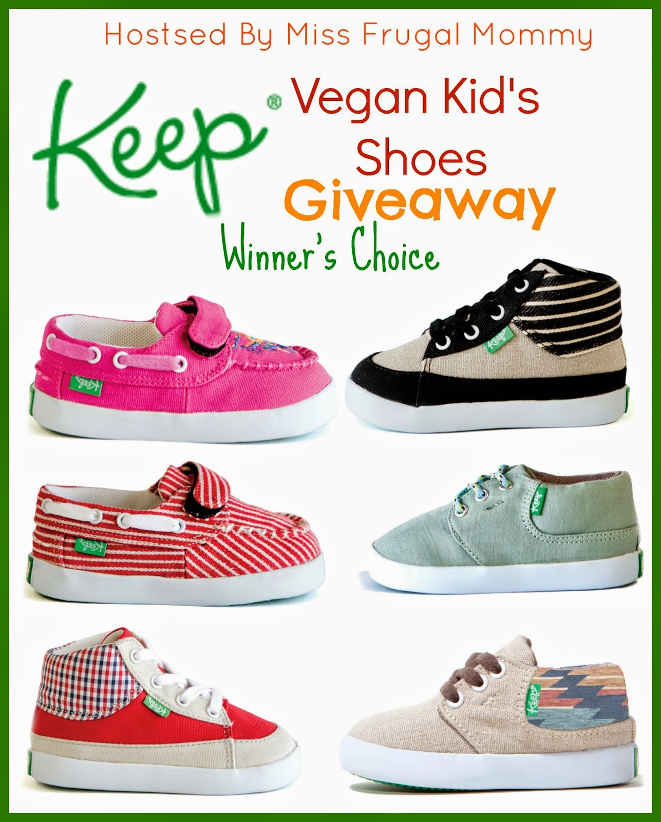 Keep Vegan Shoes Giveaway