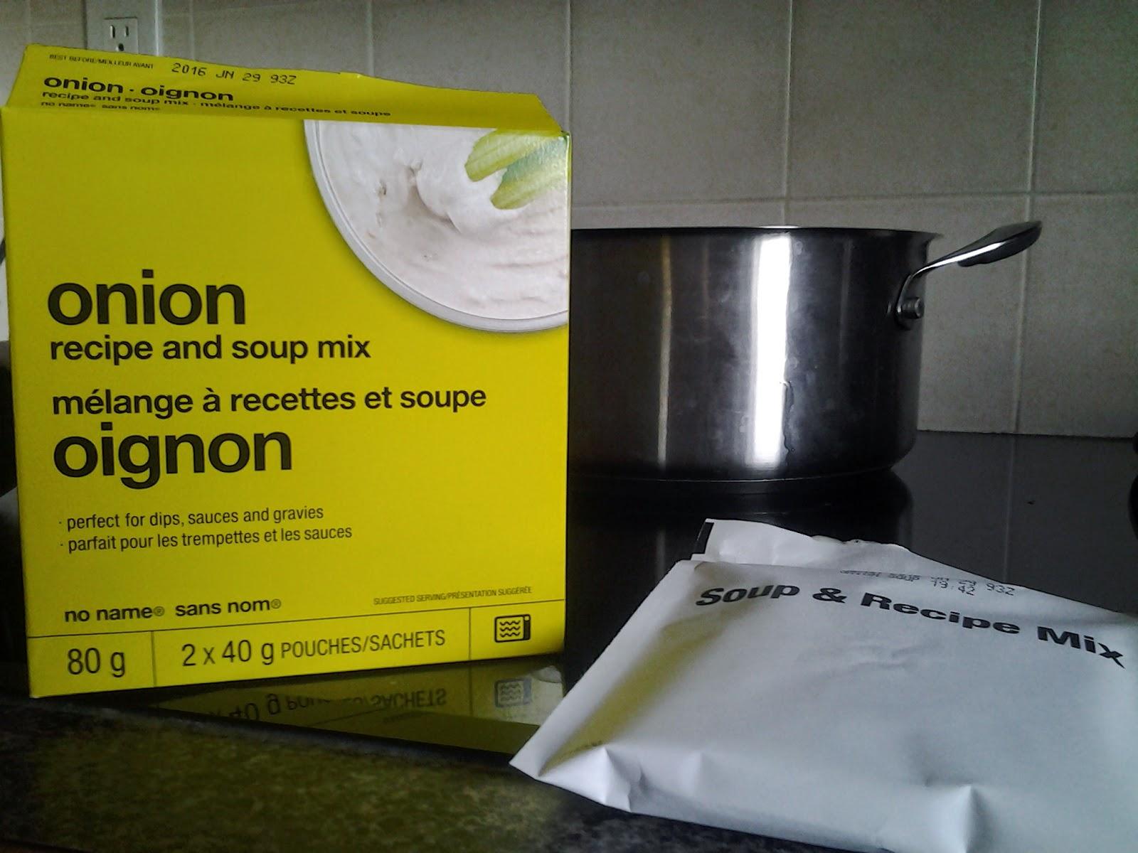 no name onion soup mix
