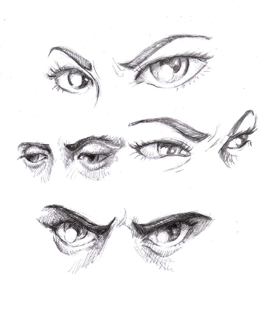 Expressive Eyes Drawing Create Expressive Eyes