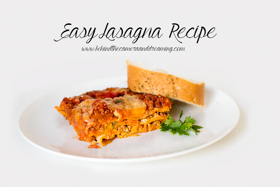This Easy Lasagna Recipe is one of our holiday traditions. Ragu Pasta Sauce is always our number one choice for Italian cooking! This dish also freezes beautifully, and makes a great meal to give to family and friends when you want to share a freezer meal!