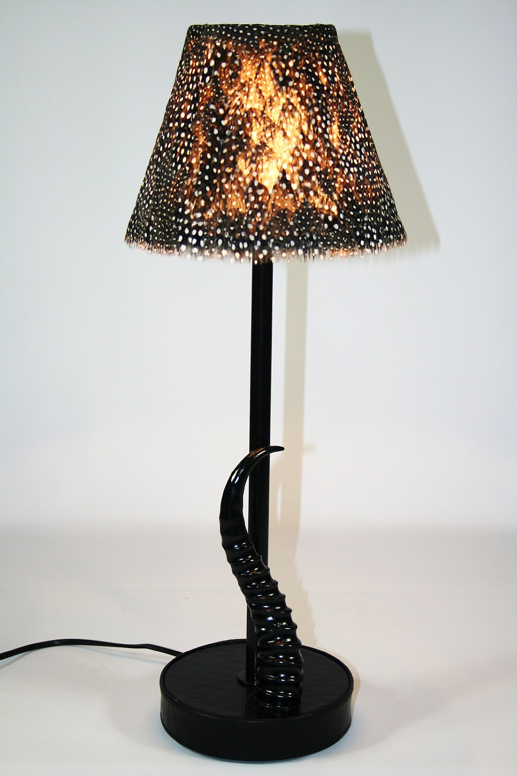 Unique Floor Table And Bedside Lamps