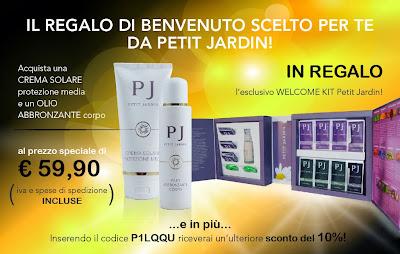 promozione solari petit jardin e welcome kit