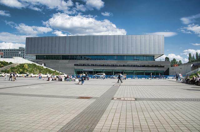 Baustelle CCB, Neubau Citycube Berlin, Messedamm /Jaffeestraße, Ehemalige Deutschlandhalle, 14055 Berlin, 04.06.2014