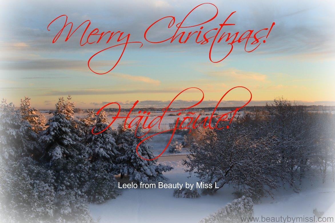 Häid pühi, christmas card, jõulukaart