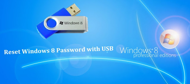 reset windows 8 password usb
