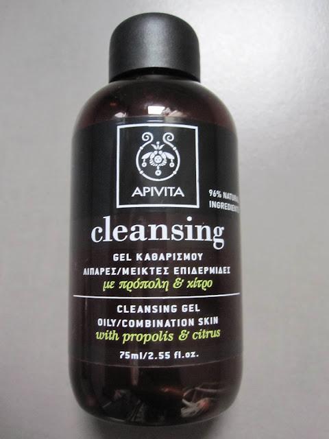 apivita crema-espuma limpiadora y gel limpiador