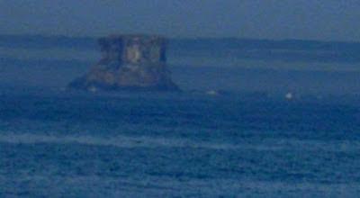 Isla aparece y desaparece en Brasil agosto 2012