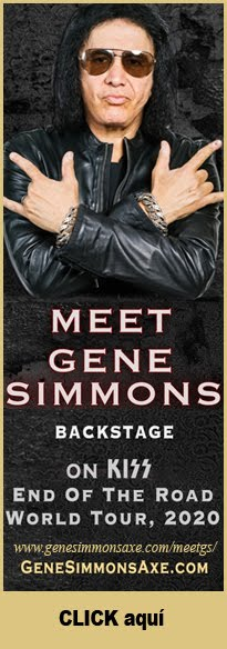 Meet and Greet con Gene Simmons en Buenos Aires 2020