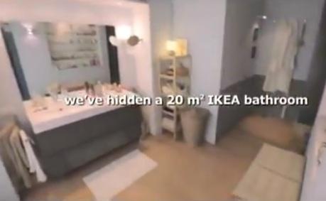 Roberto venturini digital planner la toilette pubblica uno showroom ikea - Planner bagno ikea ...