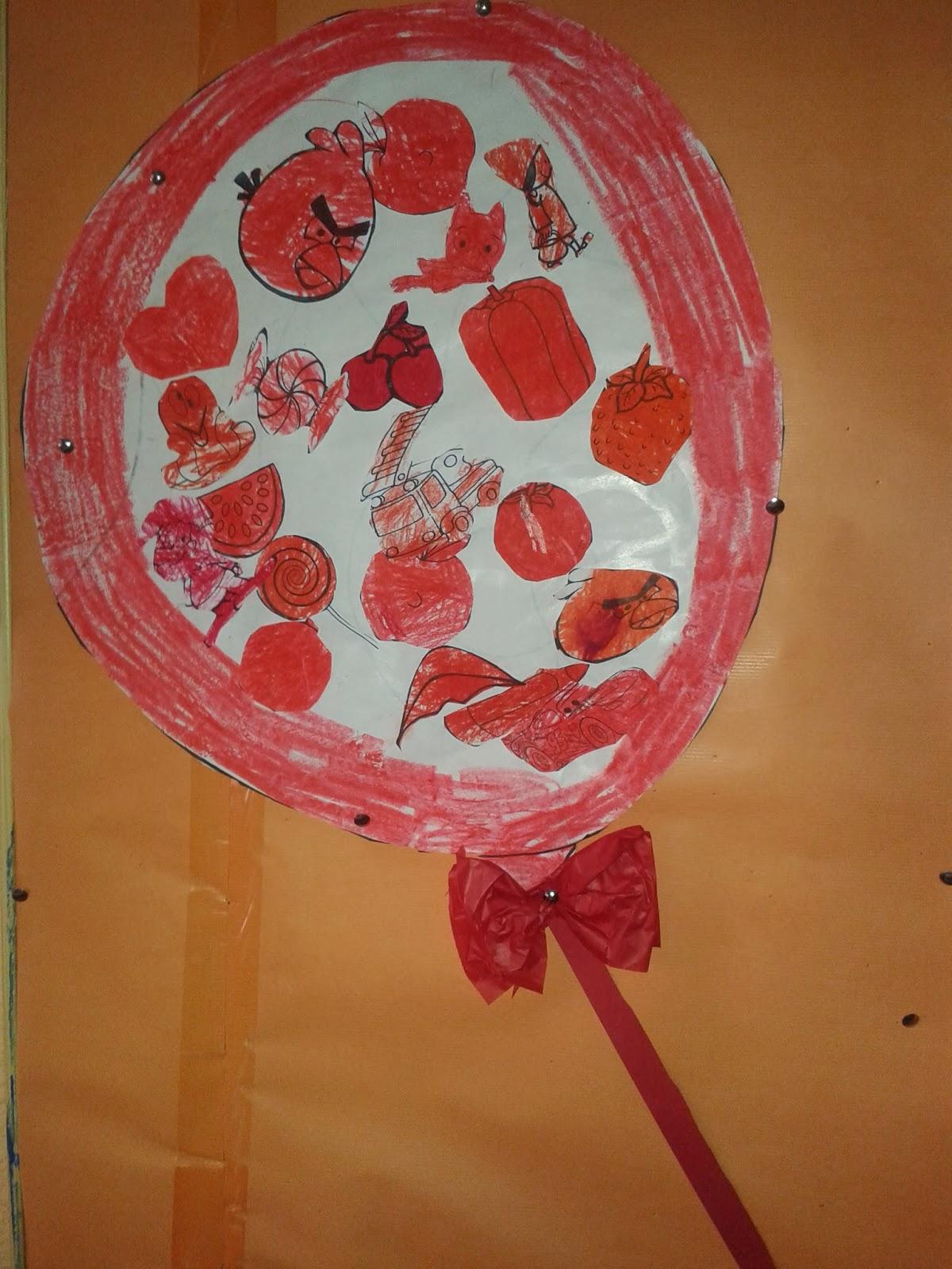 El aula de Trini: Color Rojo