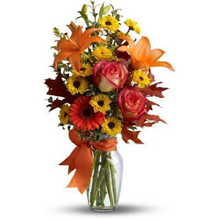 Order a Burst of Autumn Bouquet