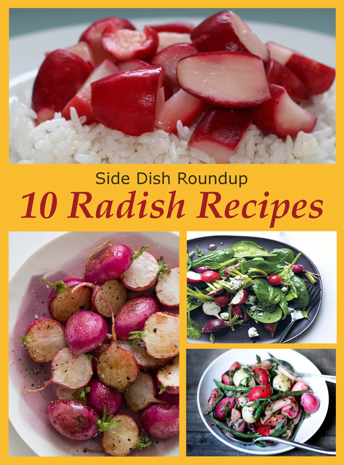 Radish Side Dish Recipes