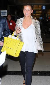 Celine Trapeze Bag Celebrities