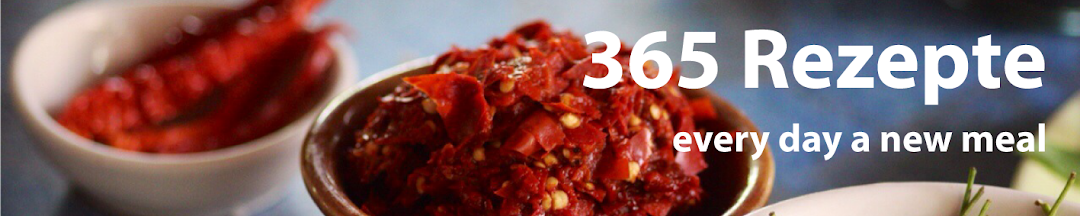 365 Rezepte - every day a new meal