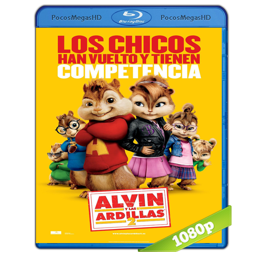 Alvin Y Las Ardillas 2 (2009) BRRip 1080p Audio Dual Latino/Ingles 5.1