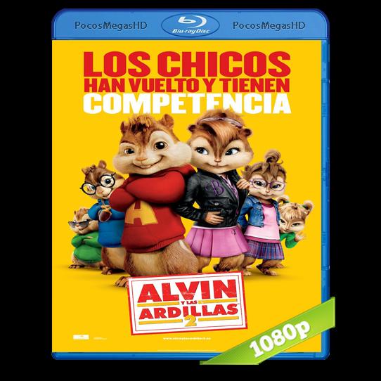 Alvin Y Las Ardillas 2 (2009) BRRip 1080p Audio Dual Latino/Ingles 5.1