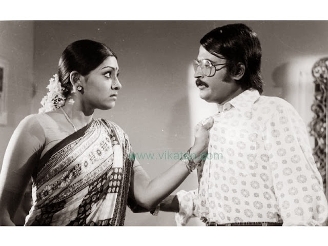 'Thalaivar' Rajinikanth & Sujatha in 'Avargal' Movie