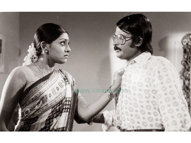 'Thalaivar' Rajinikanth & Sujatha in 'Avargal' Movie