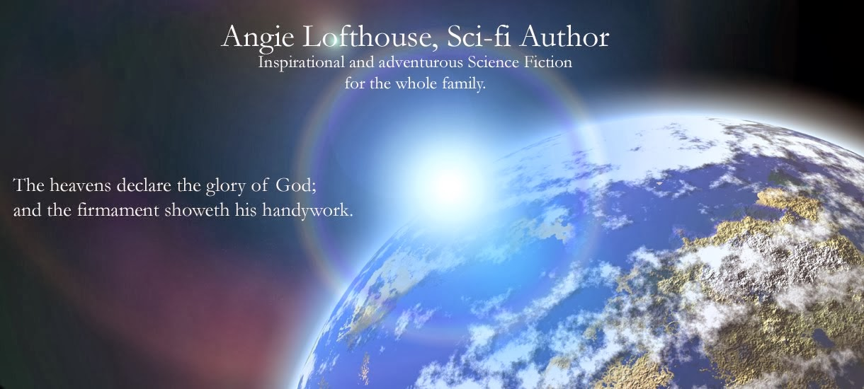 Angie Lofthouse, Sci-Fi Author