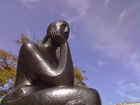 Statue of Woman in Thinking Pose: Image Source: http://upload.wikimedia.org/wikipedia/commons/8/81/A_woman_thinking.jpg