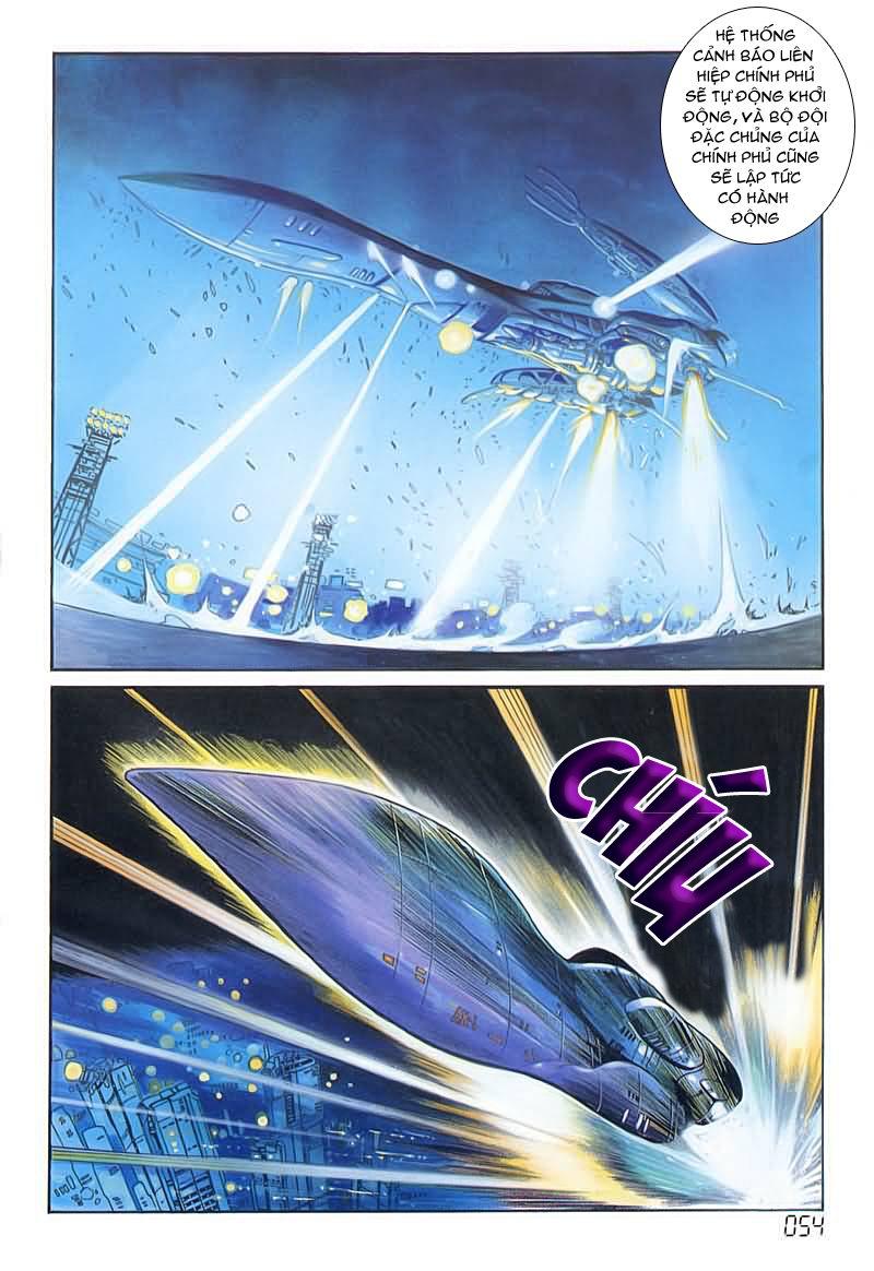 Cyber Weapon Z - Siêu Thần Z chap 4 - Trang 15