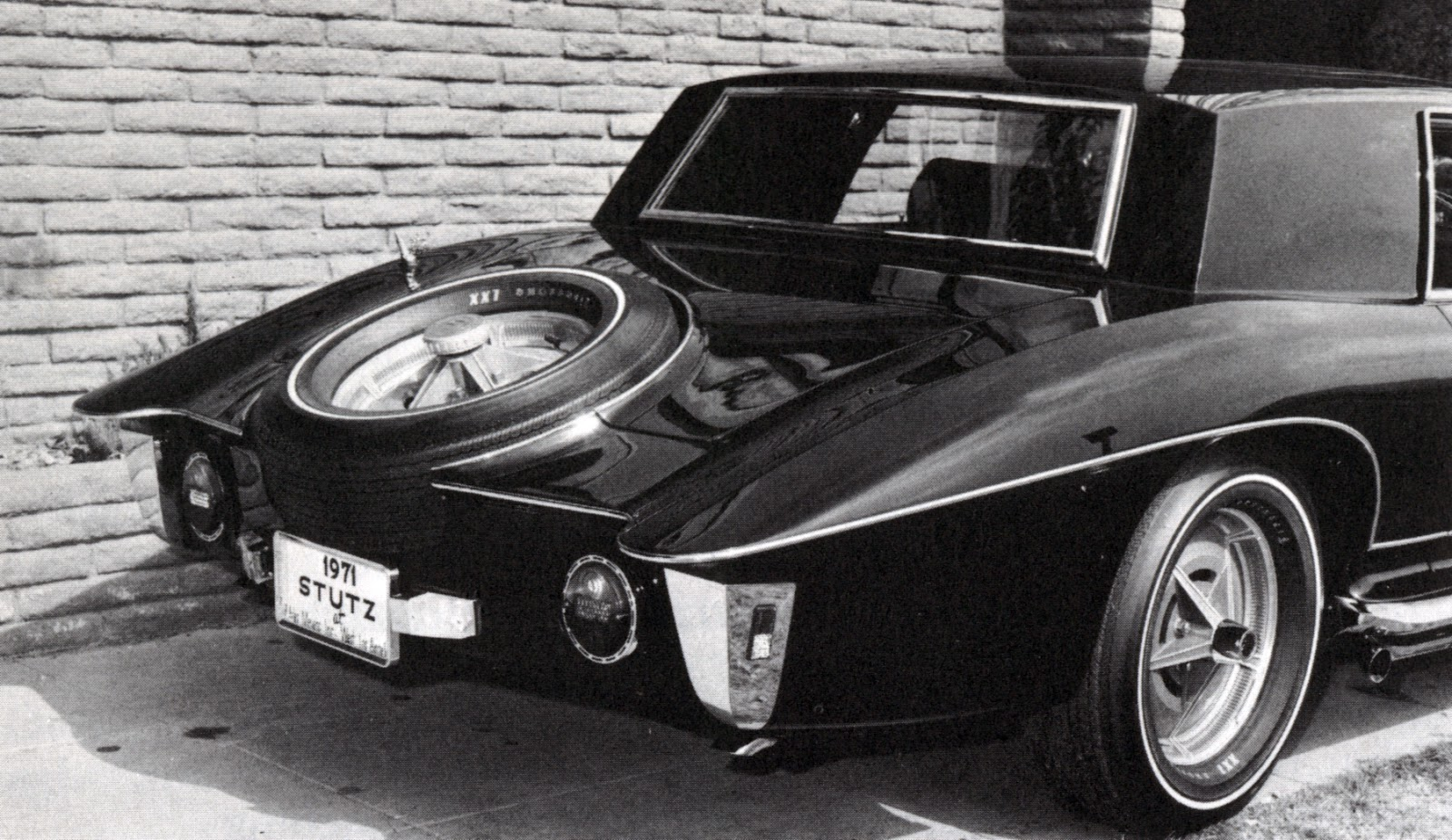 The Stutz Blackhawk 1971 1987 Phscollectorcarworld Lps 1968 Chevelle Fuse Box