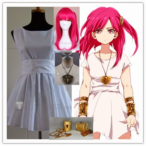 Magi Morgiana Cosplay Costume Set