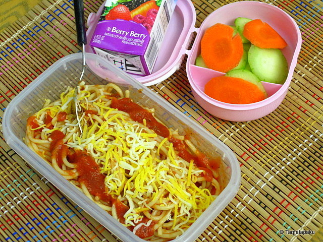 Spaghetti with Marinara Sauce
