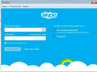 inciar sesion en skype con cuenta hotmail