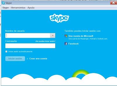 iniciar sesión en skype con cuenta de hotmail