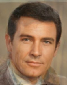 James Bond all actors composite