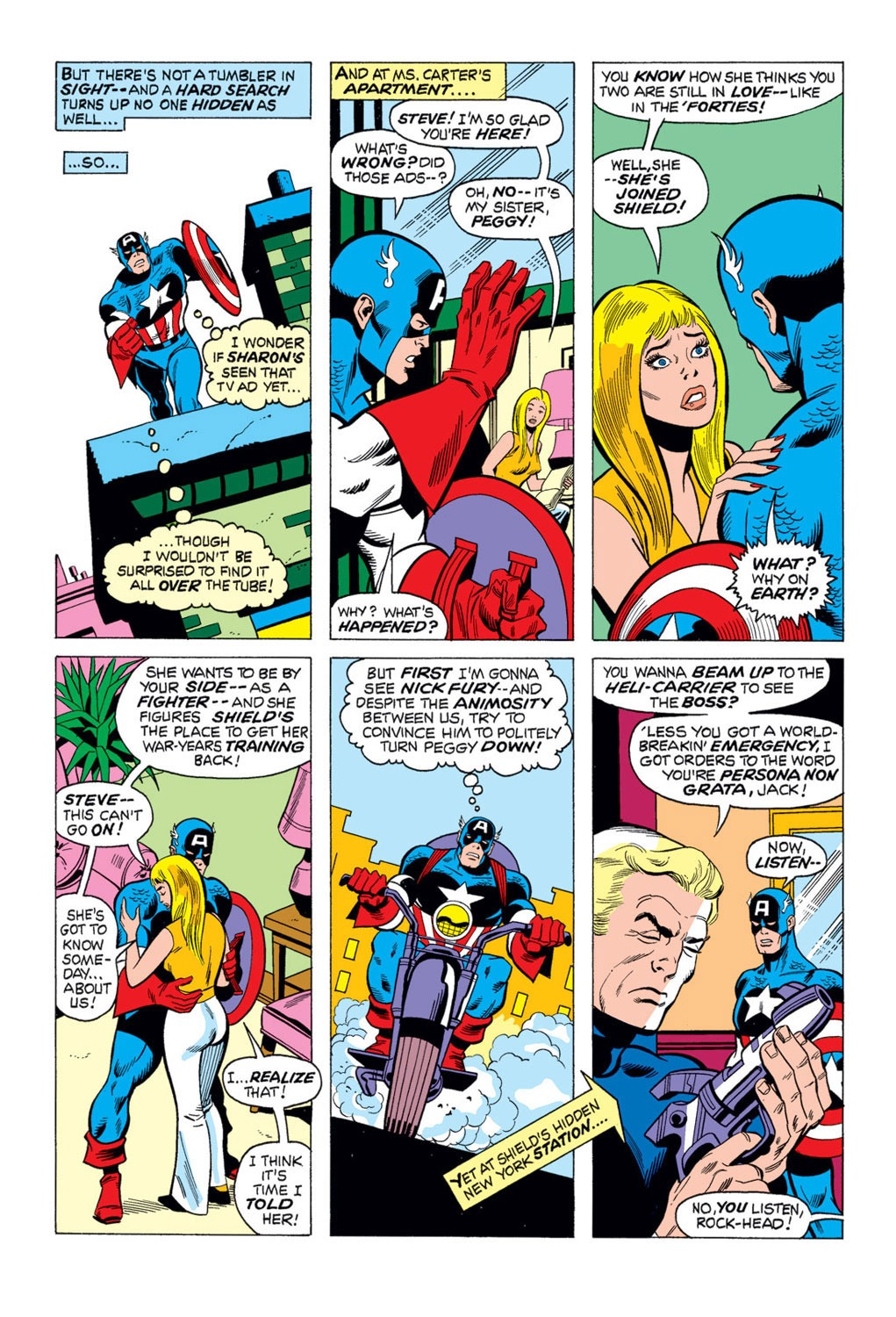 Captain America (1968) Issue #169 #83 - English 16