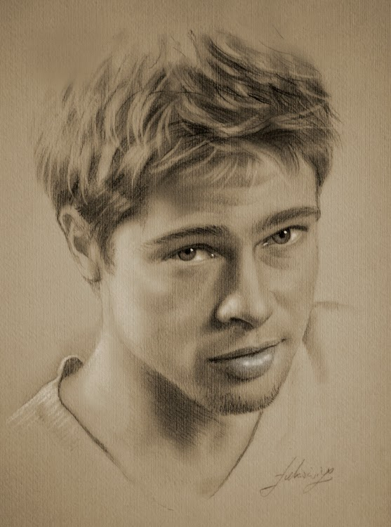 03-Brad-Pitt-krzysztof20d-2b-and-8b-Pencils-Clear-Pastel-Celebrity-Drawings-www-designstack-co