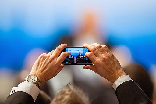 Smartphone in Audience