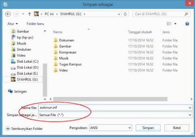 Cara Merubah Icon Flashdisk tanpa Menggunakan Software