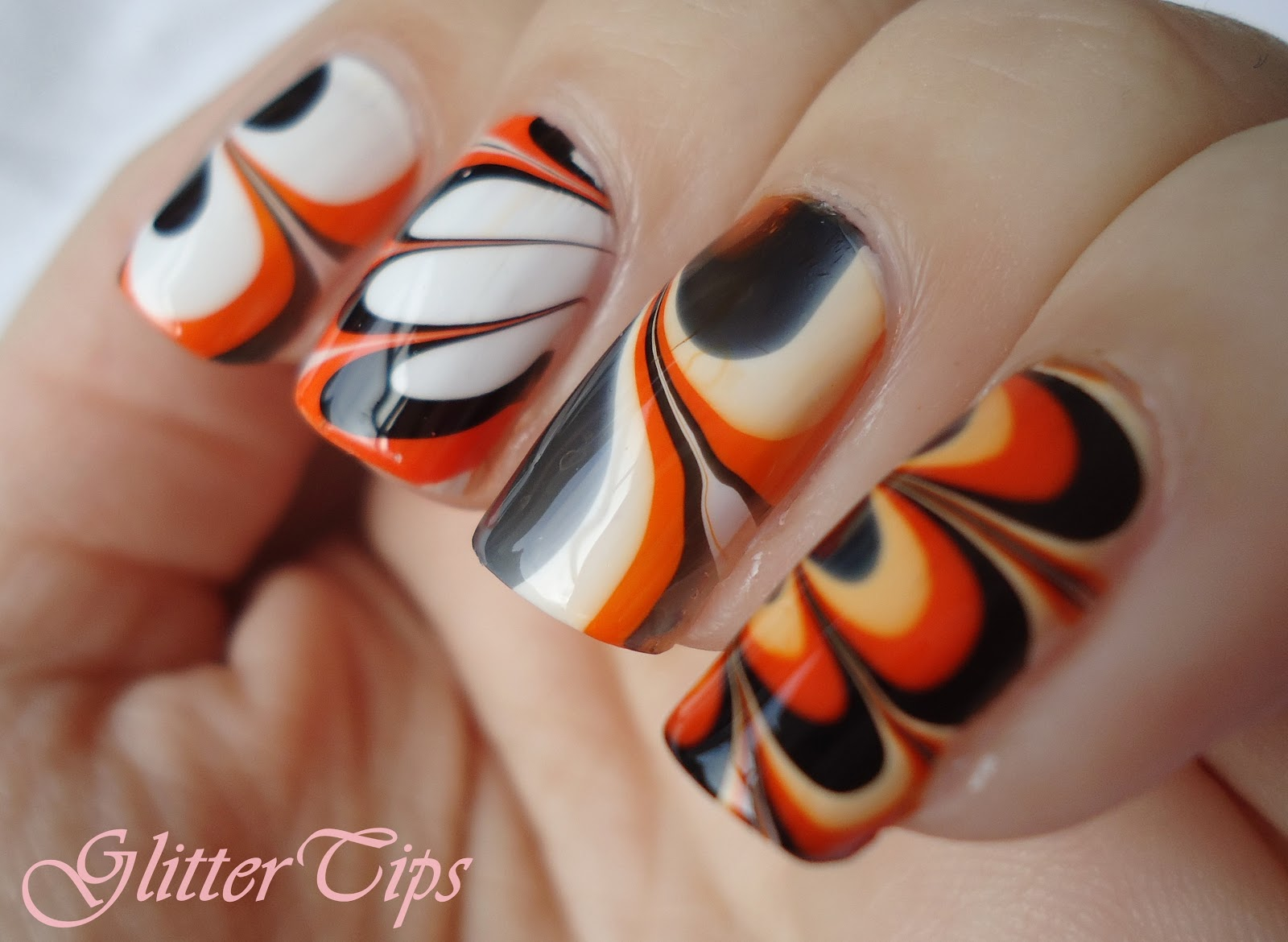 Glitter Tips: Rio Beauty - Marble Nail Art Polish: London Collection ...