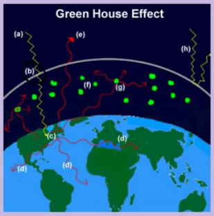 the green house effect chlorofluorocarbons and A greenhouse gas is any gaseous compound in the atmosphere that is capable of absorbing infrared radiation solar radiation and the greenhouse effect chlorofluorocarbons.