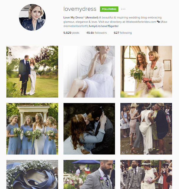 The Wedding Instagrammers you should follow