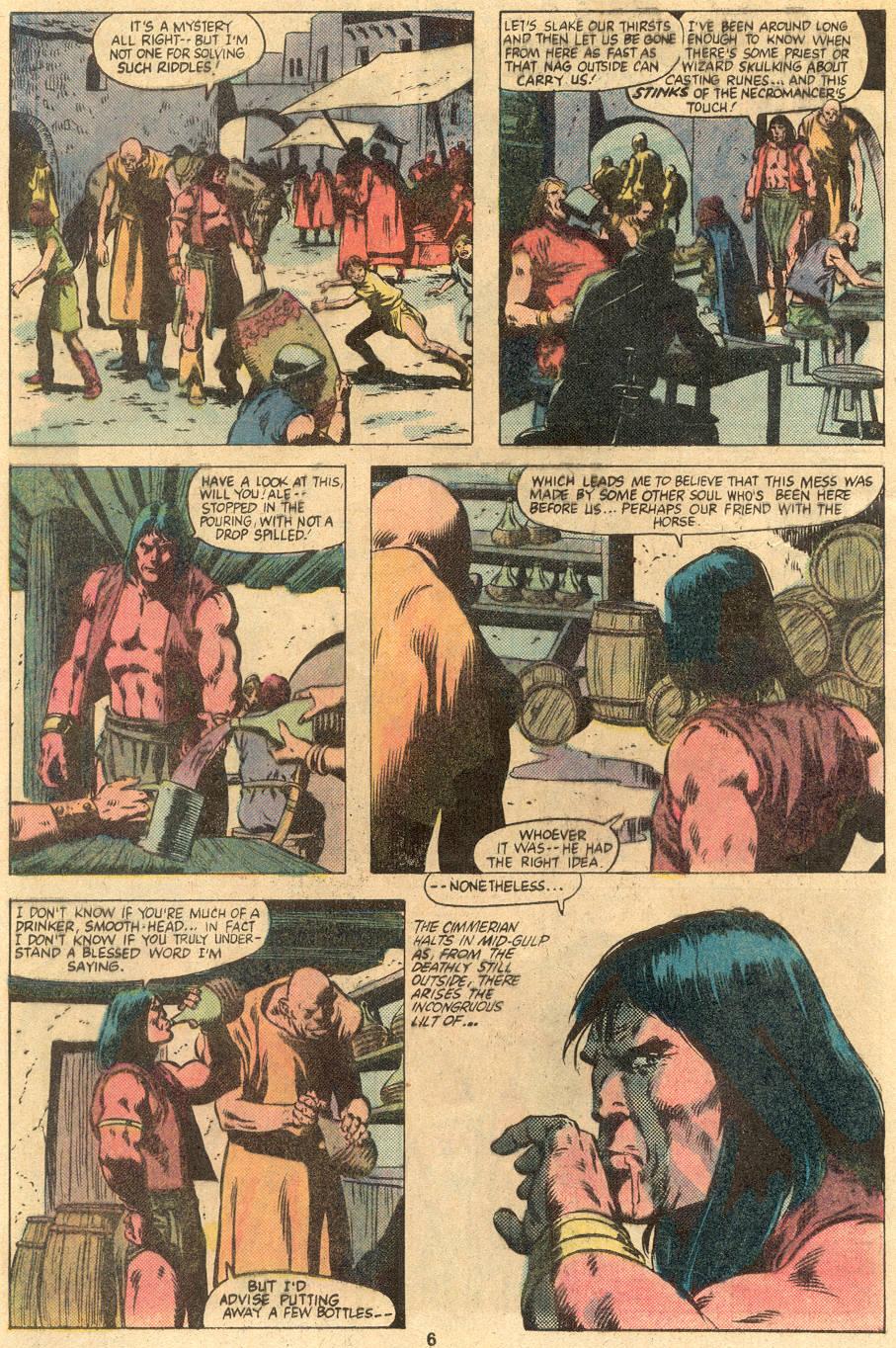 Conan the Barbarian (1970) Issue #122 #134 - English 6