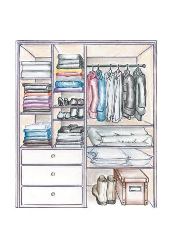 Dia terima nikahnya perkongsian hidup almari baju - Interior arrangement and design association ...