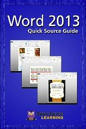 word 2013 pamphlet