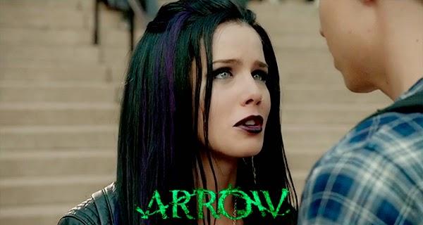 Felicity en Arrow 3x05