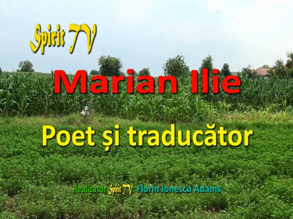Interviu Marian Ilie, poet şi traducător,