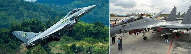 NEW FRIEND FOR RMAF SUKHOI SU-30MKM   ?   LET'S WAIT AND SEE
