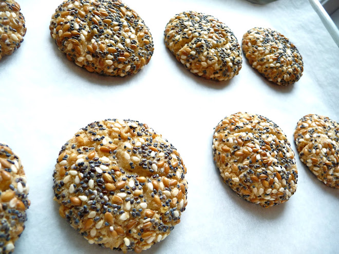 Seeded Tahini Cookies